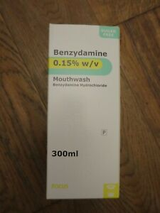 Benzydamine Hydrocholoride Mouth wash 300ml. Like Difflam