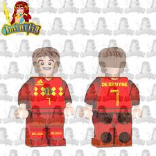 LEGO Custom Football Soccer FIFA World Cup De Bruyne in National Jersey