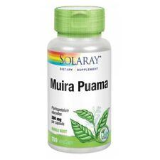 Muira Puama 100 Tapas 300MG Por Solaray