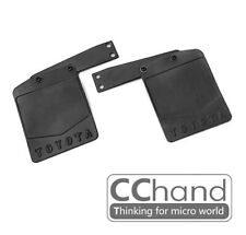 CC HAND Rubber Mud Flap for 1/10 RC4WD G2 FJ40 with Metal Brackets