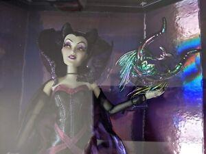 Maleficent Midnight Masquerade Disney Designer Doll LE 5200 Brand New Ships Fast