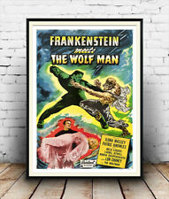 Frankenstein meets the Wolfman : Film Advertising  Poster reproduction