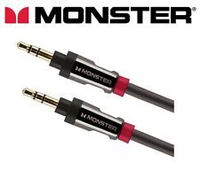 Monster iCable 800 AUX Mini Jack Auxiliary Cable Aux Car iPhone 2m  No Fills