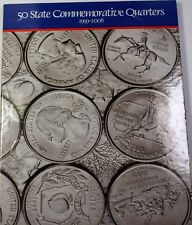 1999- 2008 United States Quarters Complete Panavu Album 50 Coin Collection