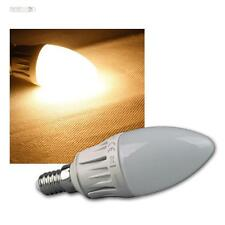 E14 Leuchtmittel warmweiß LED 480lm DIMMBAR 6W/230V Kerzenlampe Kerze Birne Lamp