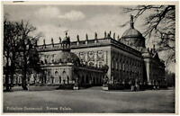 POTSDAM Brandenburg alte Postkarte 1942 Neues Palais Partie Schloss Sanccouci