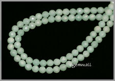 """15.75""""  Amazonite Round Faceted  Beads 6mm  #71029"""