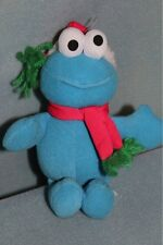 Sesame Street Christmas Cookie Monster Plush Toy Doll Fisher-Price 2000