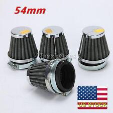 4pcs 54mm Air Filters Pod Fit Suzuki GS750 Honda CB400 CB500 Yamaha XJR1200 US