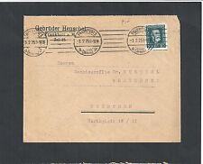 Deutsches Reich, 1924 Michelnr: 368 o, Ganzsache, Frankfurt, Michelwert € 15