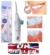 Portable Power Floss Dental Oral Water Jet Tooth Cleaning Jet Flusher -Brand New