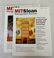 Mit Sloan Management Magazine 2002 Spring Summer Lot of 2