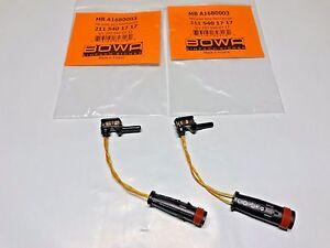 Mercedes W211 W220 Front Rear Brake Pad Wear Sensor Set OEM 2 (BOWA) 2115401717