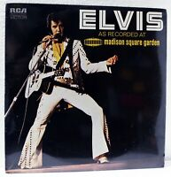 "ELVIS PRESLEY - LIVE AT MADISON SQUARE GARDEN - ""STILL SEALED"" 1972 RCA LSP-4776"