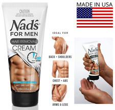 Nad's for Men Hair Removal Cream 6.8 - Painless Hair Removal Hair Removal Cream