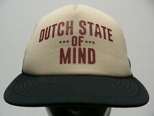 DUTCH STATE OF MIND - ONE SIZE TRUCKER STYLE ADJUSTABLE SNAPBACK BALL CAP HAT