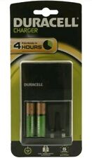 Duracell Hi-Speed Battery Charger CEF 14 | inc 2 AA