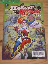 Harley Quinn #0 (2013) DC, 1:25 Variant  -Jimmy Palmiotti Amanda Conner signed