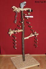 FREISITZ aus Holz Papageien Freisitz JAVA WURZELHOLZ Papageienspielzeug 1,60 M