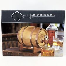 DASHING Mini Whiskey Barrel () - 27 FL Oz Fine Gifts