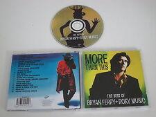 """BRYAN FERRY+ROXY MUSIQUE/MORE THAN """"QUE"""" CE, LE BEST OF(VIRGIN CDV2791) CD ALBUM"""