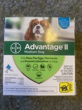 Bayer Advantage II for Medium Dogs (11 - 20 Lbs) - 4 Month Supply