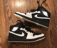 Nike ID Air Jordan Alpha 1 White Black Size 13.5 407034-993