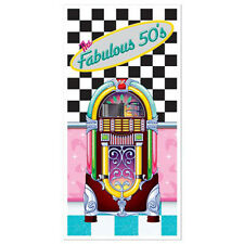 Beistle 57088 The Fabulous 50s Door Cover Pack of 12