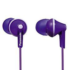 Stereo Panasonic In-Ear-Kopfhörer violett Ohrhörer 3,5 mm Klinkenstecker NEU