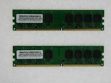 4GB = 2 X 2GB DELL OPTIPLEX 740 745 755 DDR2 MEMORY non-ecc Desktop 800 pc2-6400