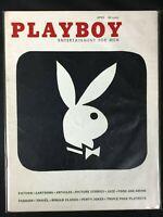 Playboy, magazine, Apr, 1956, Rusty Fisher