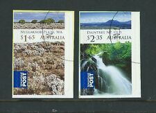 AUSTRALIA 2012 WILDERNESS INTERNATIONAL STAMPS SELF ADHESIVE SET OF 2 FINE USED.