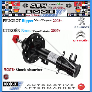 FRONT RH Shock Absorber PEUGEOT Bipper Van/Tepee CITROËN Nemo Van/Estate 2007+