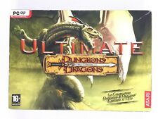 Ultimate Dungeons & and Dragons 13 Jeux : Neverwinter Baldur's Gate Icewind.. PC