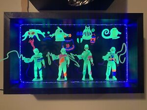 Real Ghostbusters Ecto-Glow Ray Winston Peter Egon Loose Complete w/display