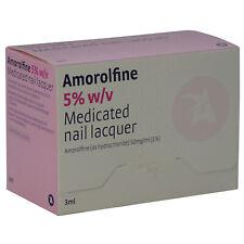 Amorolfine 5% Medicated Nail Fungal Treatment Lacquer 3ml | Curanail Alternative