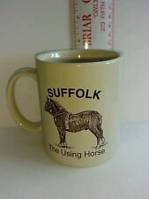 Suffolk The Using Horse Collectible Coffee Mug Punch Linyi