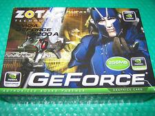 ZOTAC Nvidia GeForce 6200 256MB DVI/VGA/TVO AGP Graphic Card, Win7 compatible