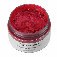 Hair Color Pomades MOFAJANG Wax Mud Dye Styling Cream Disposable DIY 7 Colors/