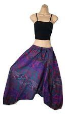 Plus Size Warm Harem Trouser Aladdin Pant Boho Gypsy Yoga Festival 16 18 20 22