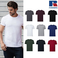 Russell Men's Authentic Tee Pure Organic R-108M-0 - Short Sleeve Casual T-Shirt