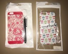 Apple iPhone 6/6S Case Cover Lot Of 2 Charming Charlie Swimsuit, Bikini Etc New
