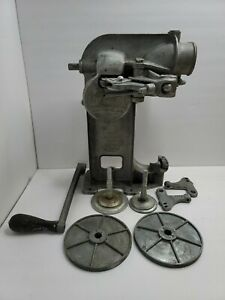 Vintage AUTOMATIC CANNING DEVICE MASTER Can SEALER Seamer For Parts