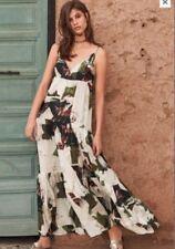NEXT SIZE 14 Tall Tiered  Printed Maxi Dress BNWT