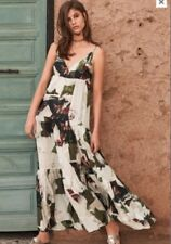 NEXT SIZE 10 Tiered  Printed Maxi Dress BNWT