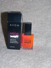 Avon Mega Watt HOT PANTS Nail Enamel Polish .4 oz/12mL New