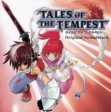 New 0786-7 TALES OF THE TEMPEST ORIGINAL SOUNDTRACK CD Song Music Game Anime