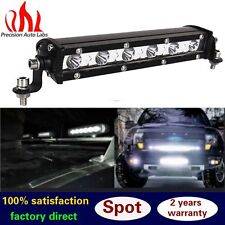 New 18W Spot Ultra Slim Single LED Light Work Bar Offroad For Jeep Truck SUV US