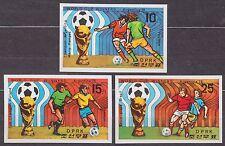 KOREA Pn. 1978 MNH** SC#1765/67 set, World Cup Winners, Argentina`78. Imp.