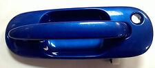 MG ZS DRIVER'S DOOR HANDLE IN TROPHY BLUE CXB000140JFV NOS